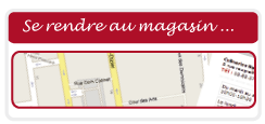 PLAN ACCES MAGASIN CULINARION NANCY